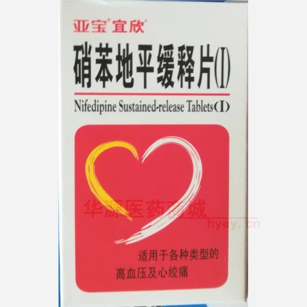 硝苯地平缓释片(I)